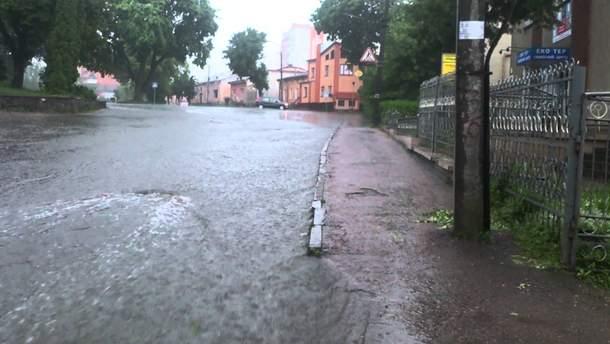Ливень в Тернополе
