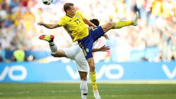 Швеция победила Южную Корею с помощью пенальти