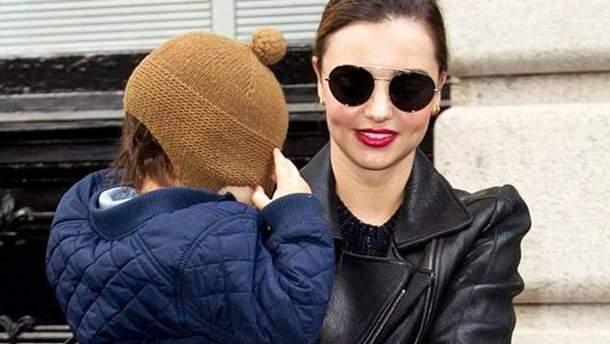 Міранда Керр з сином