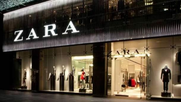 У Zara працюють магазини  з роботами