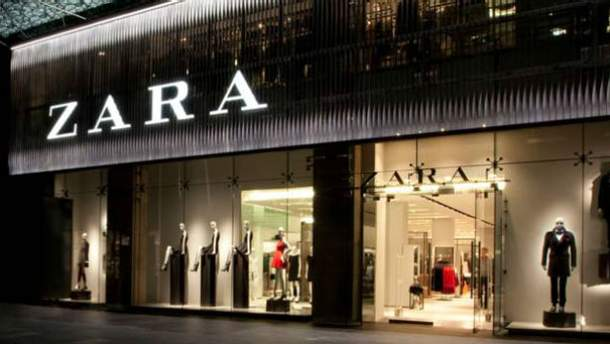У Zara магазины работают с роботами