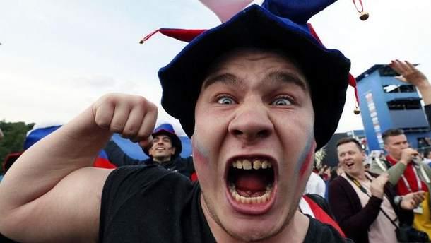 Российские болельщики готовятся встретить англичан