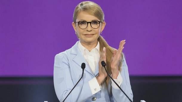 Народный депутат Украины Юлия Тимошенко