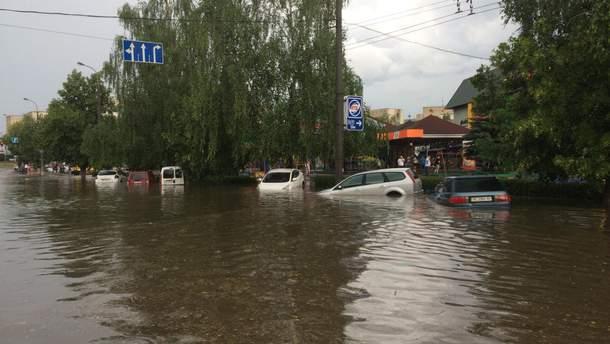 Непогода в Луцке
