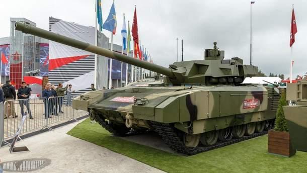 """В России новейший беспилотный танк назвали """"Тачанка"""""""