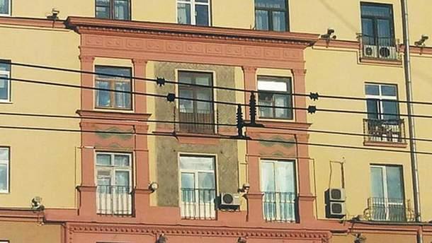 У Москві спиляли балкон історичної будівлі