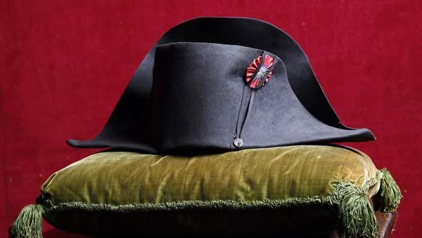 Легендарний військовий капелюх Наполеона продали