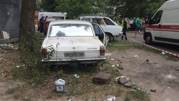 В больнице рассказали о состоянии детей, пострадавших от взрыва в авто в Киеве