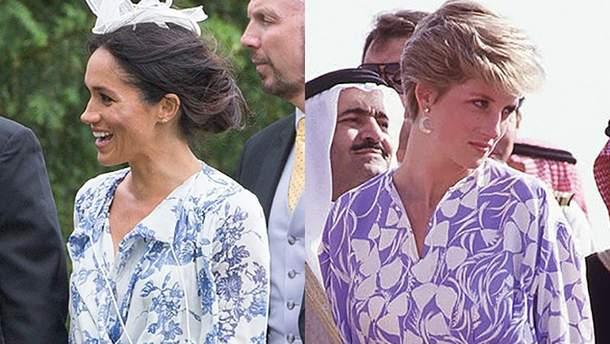 В сети поражены сходством образов Меган Маркл и принцессы Дианы