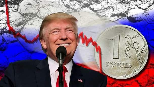 США і Китай обвалюють курс російського рубля