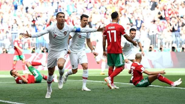Португалия – Марокко видео голов на Чемпионате мира 2018