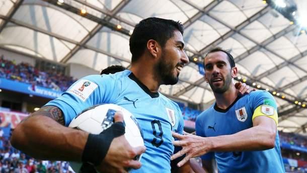 Уругвай - Саудовская Аравия голы матча Чемпионата мира 2018