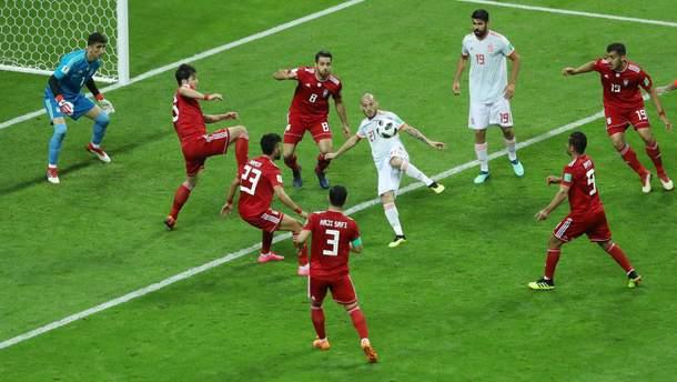 Іран – Іспанія відео голів на Чемпіонаті світу 2018