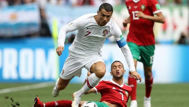 Португалия – Марокко результат Чемпионата мира