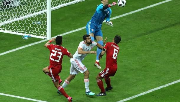 Іран – Іспанія: результат матчу Чемпіонату світу 2018