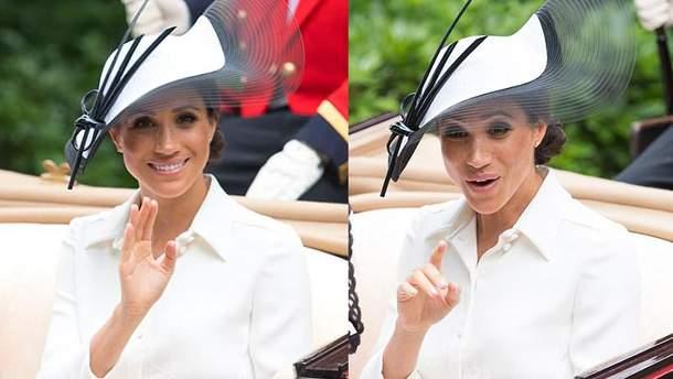 Меган Маркл у компанії королівської родини відвідала перегони Royal Ascot: фото
