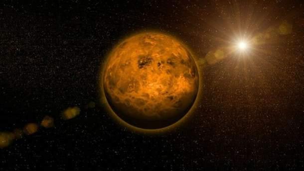 Потужний ураган впливає на обертання Венери