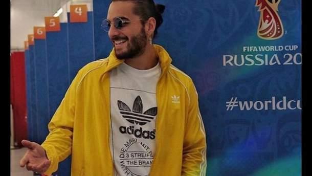 Колумбийского певца Maluma ограбили в Москве