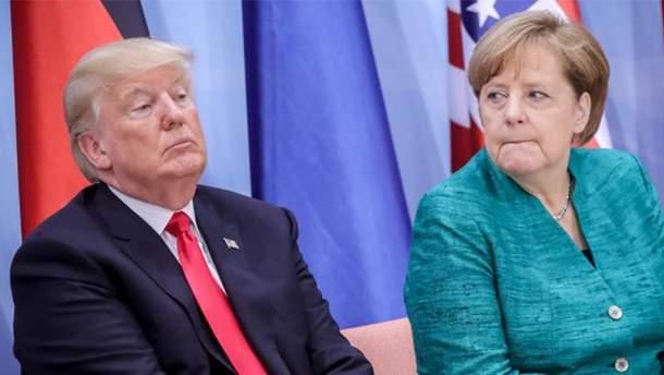 Ангела Меркель спростувала слова Трампа