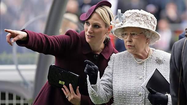 Внучка королевы Елизаветы II Зара Филлипс второй раз стала мамой