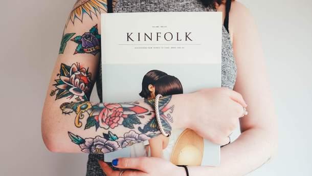 Татуировки могут вызвать болезни