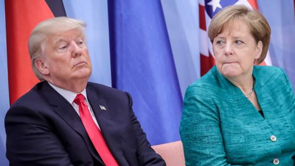 Ангела Меркель опровергла слова Трампа
