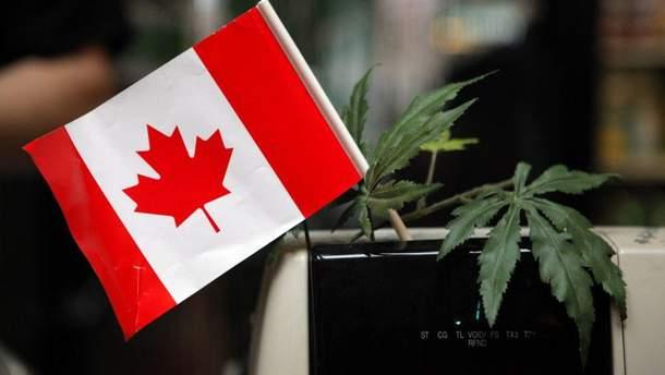 Канада легализовала рекреационную марихуану
