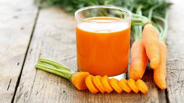 Сік з моркви