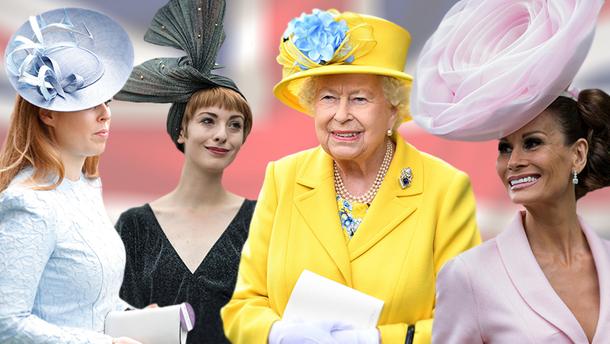 Капелюшки на кінних перегонах Royal Ascot