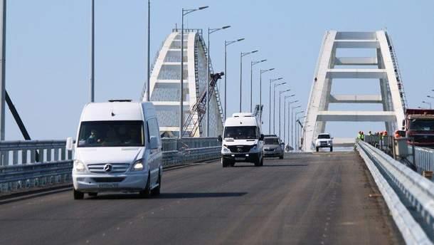 Странные рекорды Крымского моста