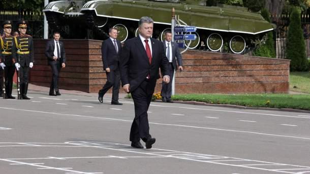 Порошенко подписал закон, который поощряет граждан к военной службе