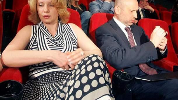 Анна Турчинова и Александр Турчинов