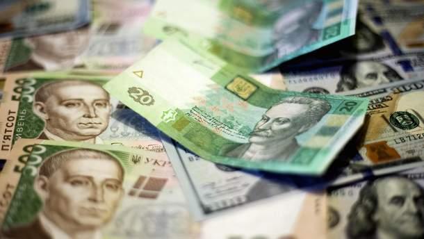 Загалом гривневий еквівалент залучених Мінфіном коштів становить 9,491 мільярда гривень