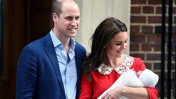 Кейт Міддлтон та принц Вільям оголосили дату хрещення сина