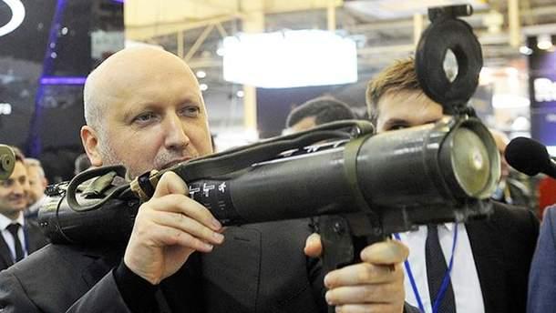 Турчинов назвал метод остановки масштабного вторжения России в Украину