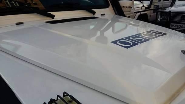 По безпілотнику ОБСЄ на Донбасі стріляли