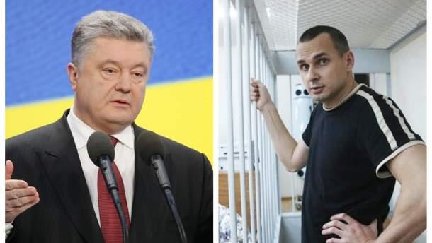 Порошенко написал письмо Сенцову, которого 21 июня посетит адвокат