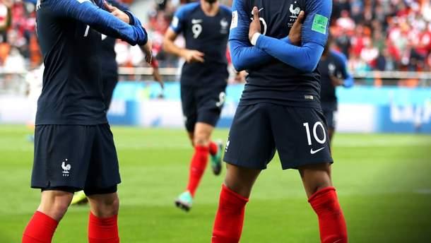Франция – Перу видео голов матча Чемпионата мира 2018
