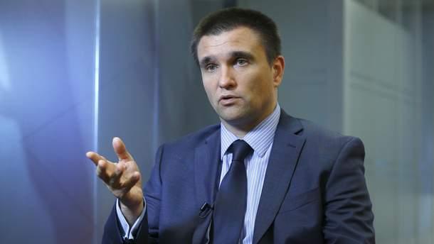 """Клімкін заявив, що Росія використовує українських політв'язнів """"як товар"""""""