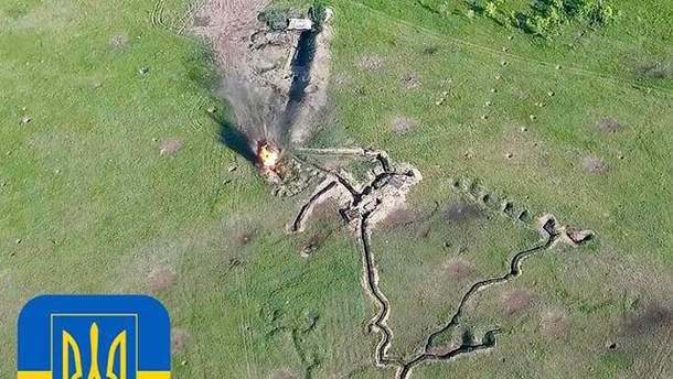 Волонтер розповів про знищену українськими бійцями ворожу техніку на Світлодарській дузі