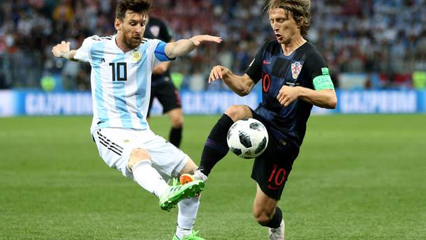 Аргентина – Хорватия гола матча Чемпионата мира 2018