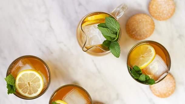 Рецепт холодного мятного чая