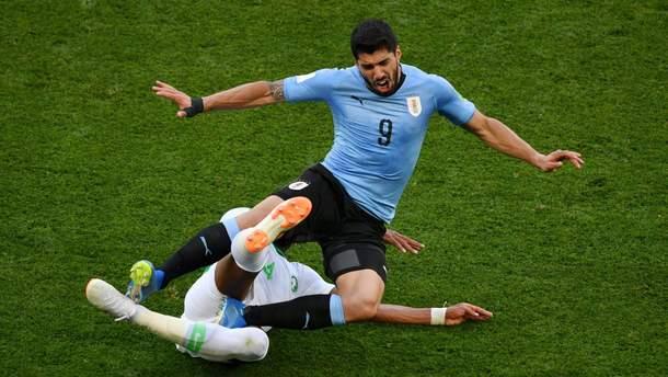 Уругвай победил Саудовскую Аравию на Чемпионате мира