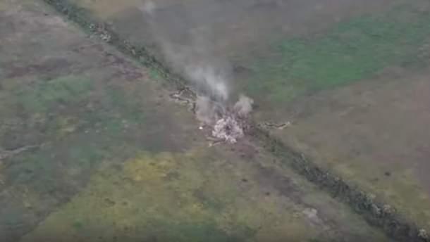 Украинские защитники уничтожили вражеский опорный пункт на Донбассе