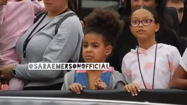 Реакция Блю Айви на концерте Бейонсе и Jay-Z
