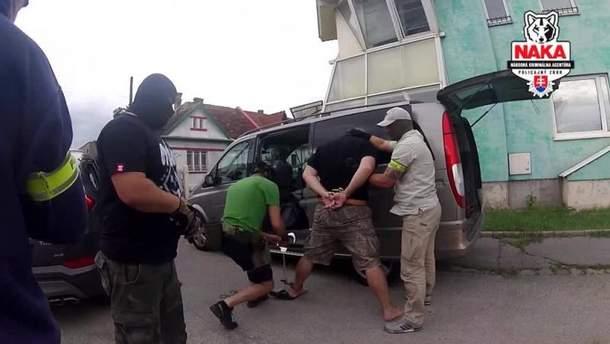 В Словакии задержали подозреваемого в терроризме украинца