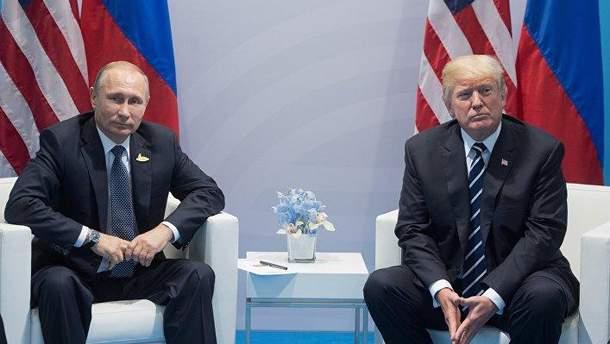 Зустріч Путіна з Трампом