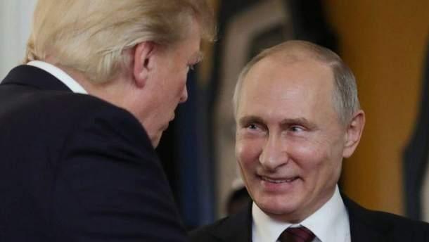 Встреча Путина с Трампом