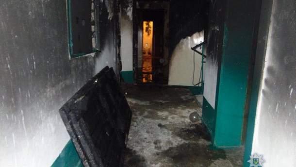 Пожар в Ровно