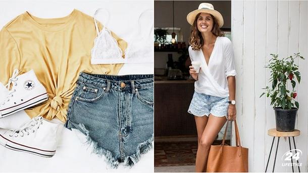 С чем стильно сочетать шорты летом: фото модных идей